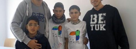 Ein Tuk für Flüchtlinge